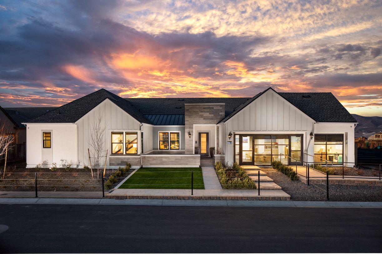 Exterior featured in the Baldwin By Toll Brothers in Reno, NV