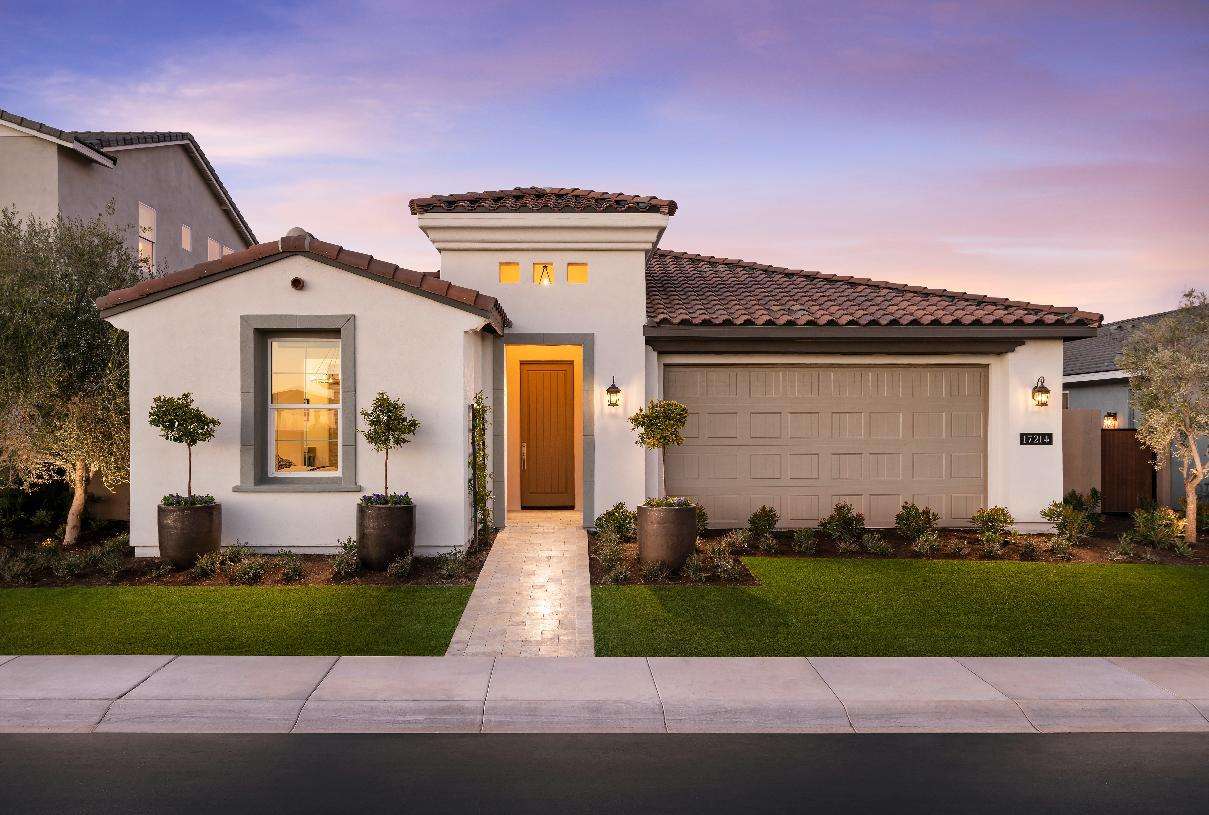 Exterior featured in the Potomac By Toll Brothers in Phoenix-Mesa, AZ