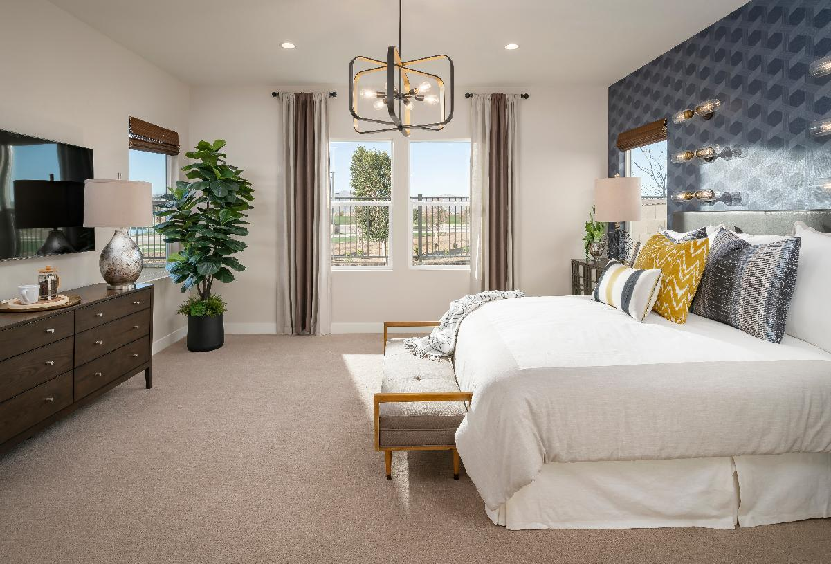 Bedroom featured in the Greenville By Toll Brothers in Phoenix-Mesa, AZ