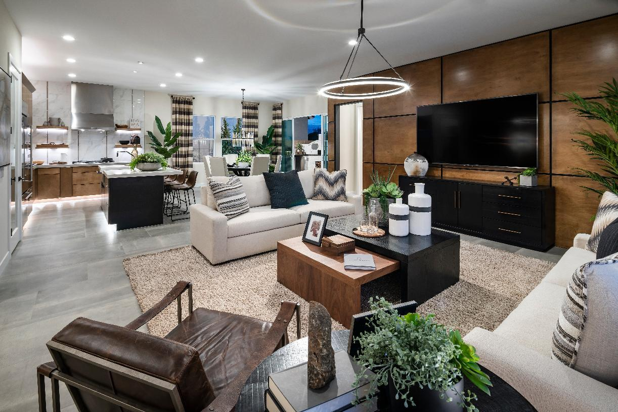 Living Area featured in the Warwick By Toll Brothers in Phoenix-Mesa, AZ