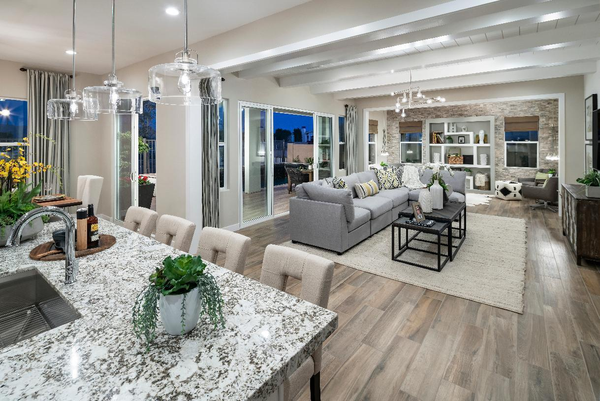 Living Area featured in the Cranston By Toll Brothers in Phoenix-Mesa, AZ