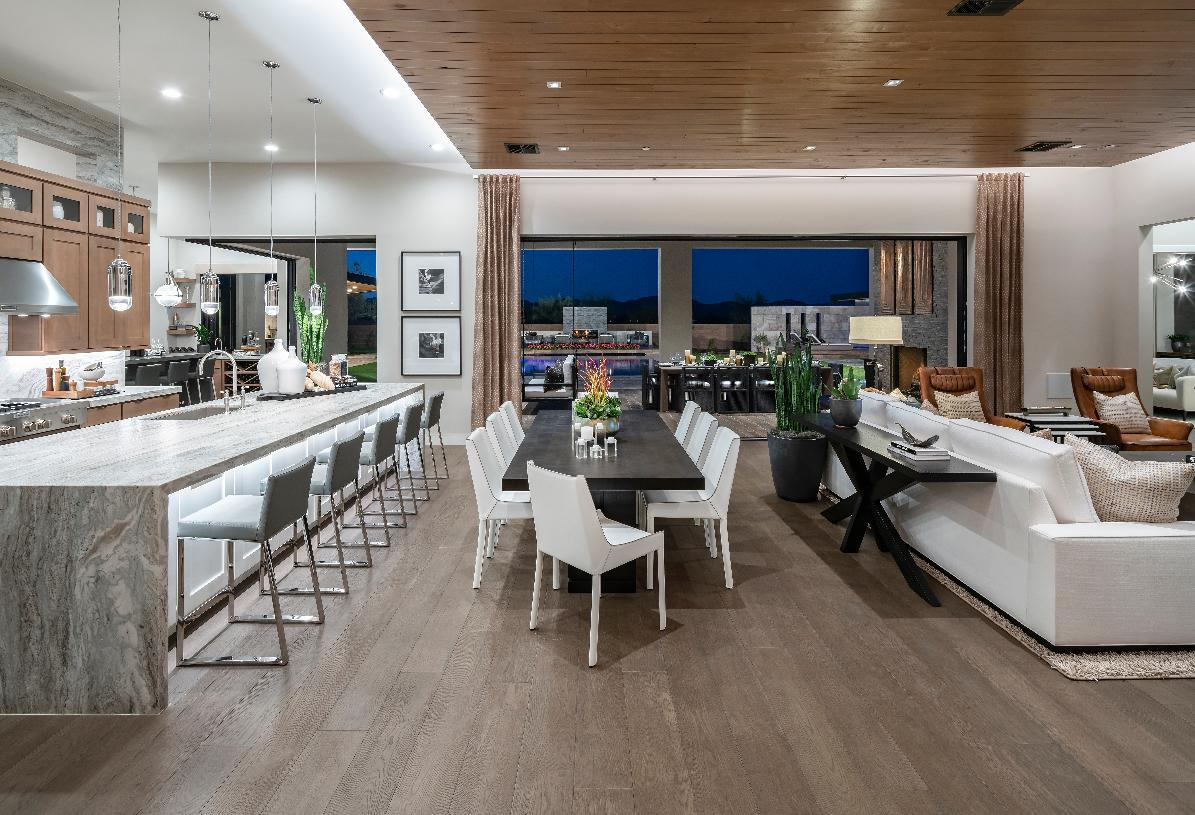 Living Area featured in the Madison By Toll Brothers in Phoenix-Mesa, AZ
