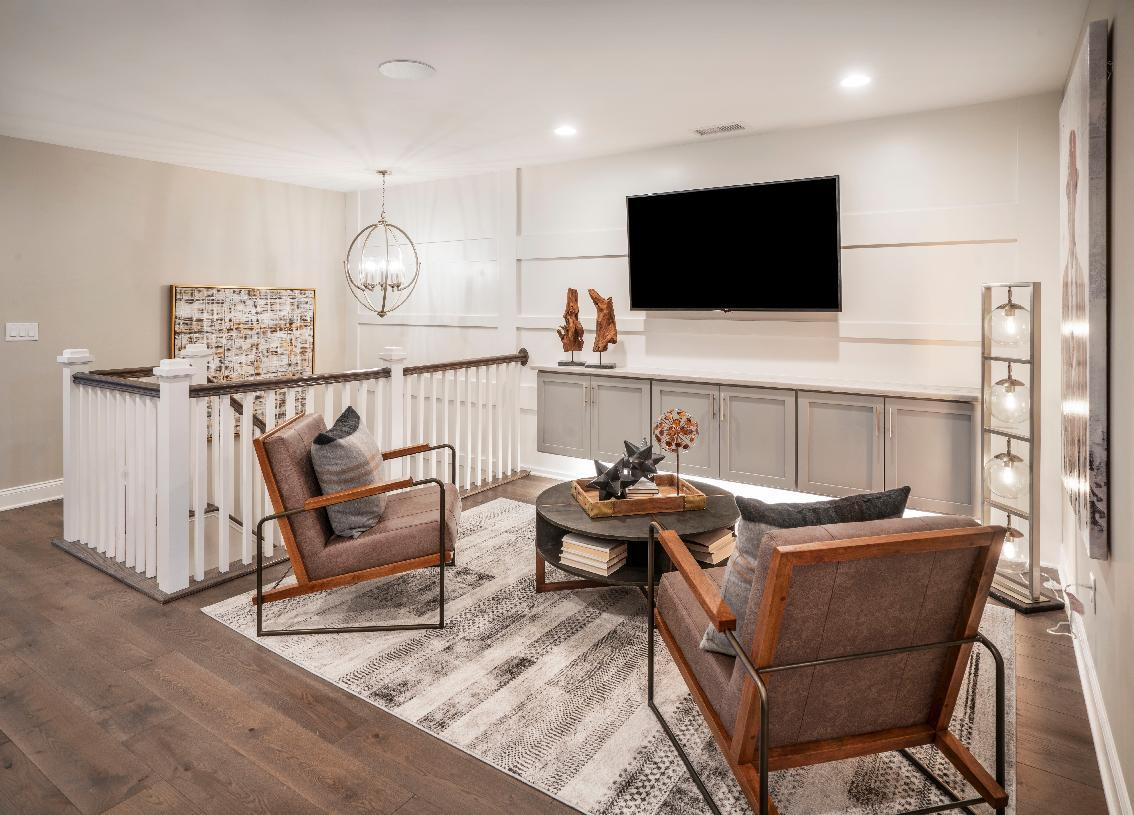 Living Area featured in the Denton By Toll Brothers in Waterbury, CT