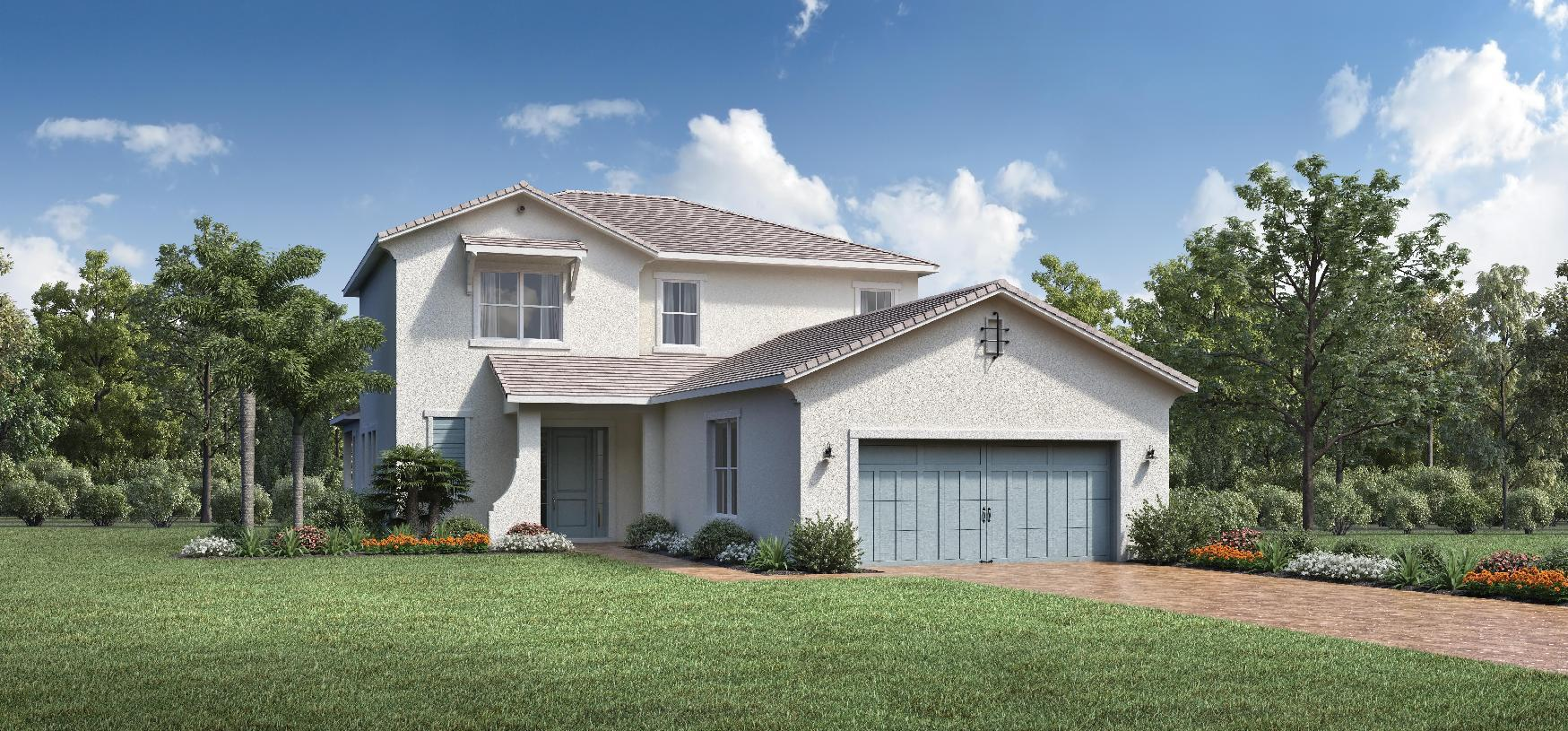 Exterior featured in the Roland By Toll Brothers in Palm Beach County, FL