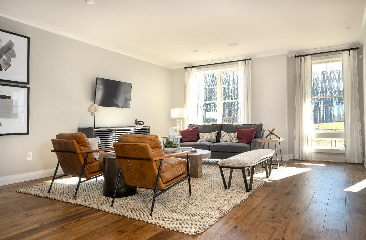 Living Area featured in the Stonemont By Toll Brothers in Baltimore, MD