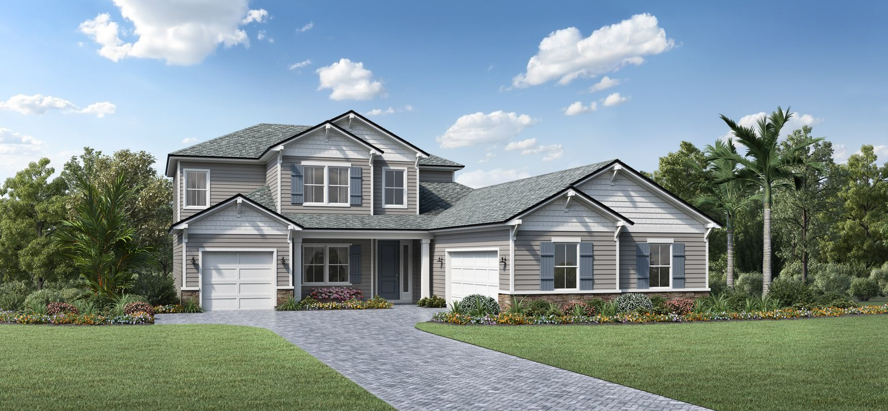 Exterior featured in the Hillcrest By Toll Brothers in Jacksonville-St. Augustine, FL