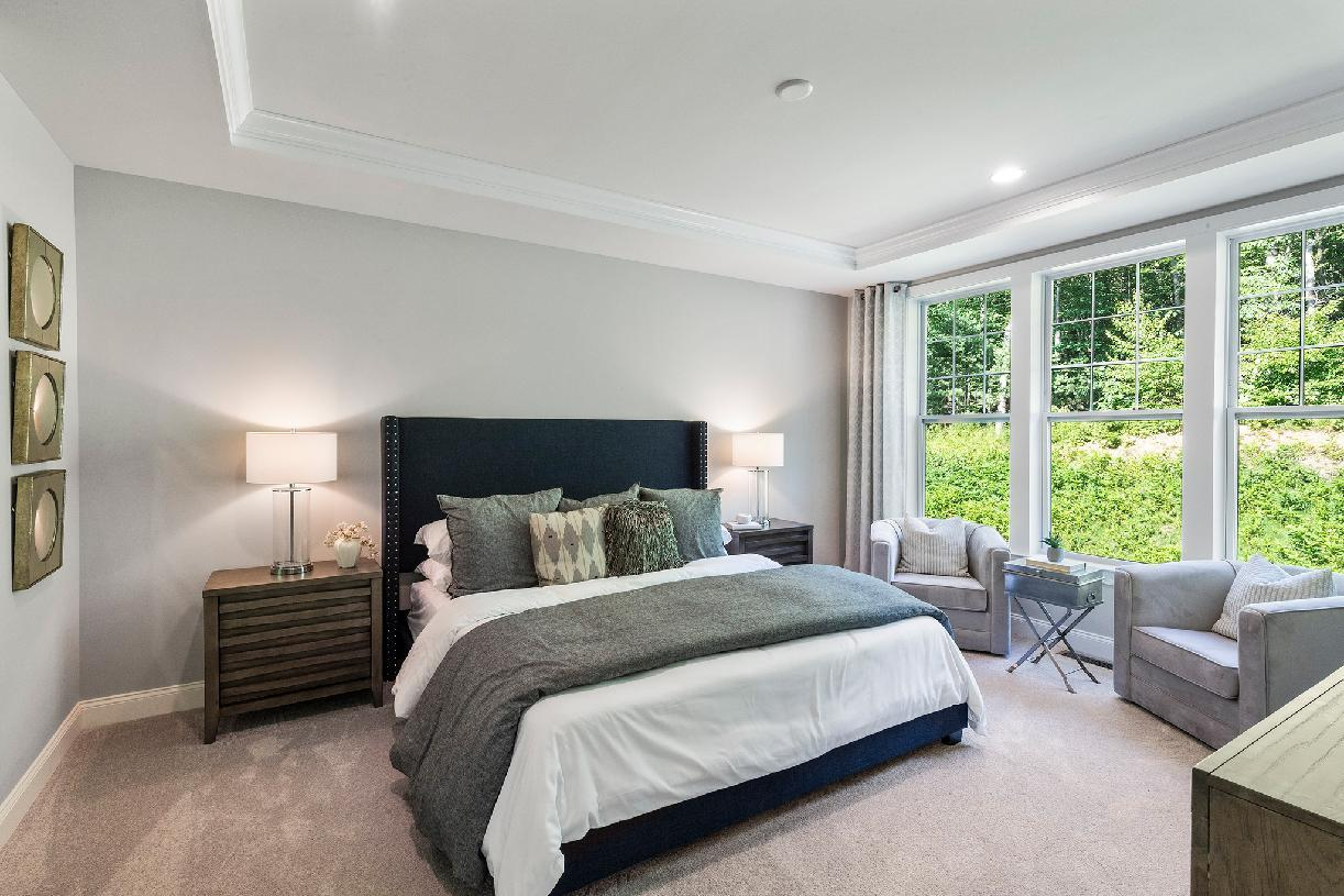 Bedroom featured in the Bethel By Toll Brothers in Waterbury, CT