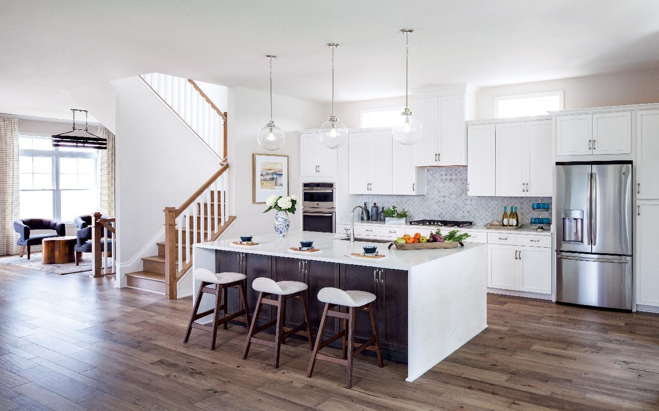 Kitchen featured in the Finnell By Toll Brothers in Baltimore, MD