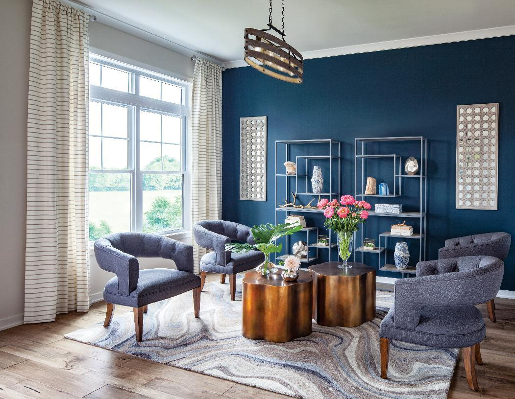 Living Area featured in the Finnell By Toll Brothers in Baltimore, MD