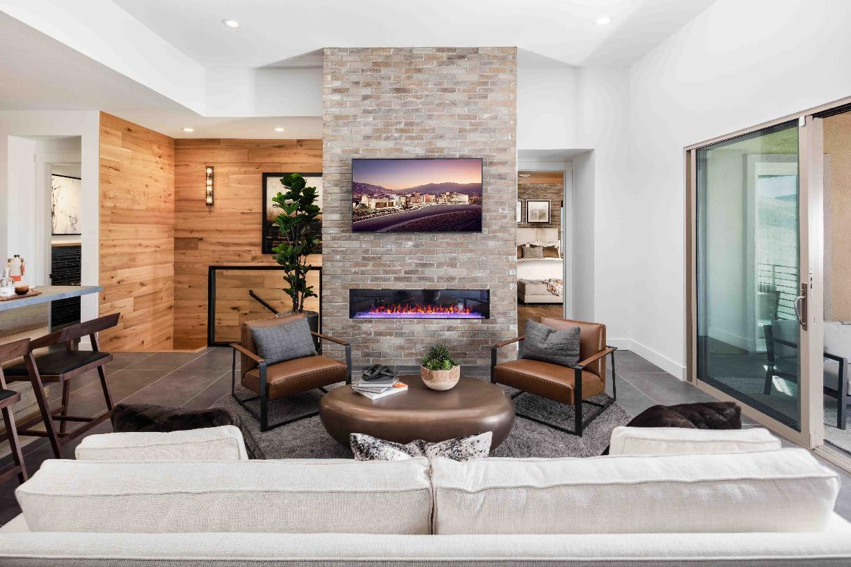 Living Area featured in the Everest Elite By Toll Brothers in Reno, NV