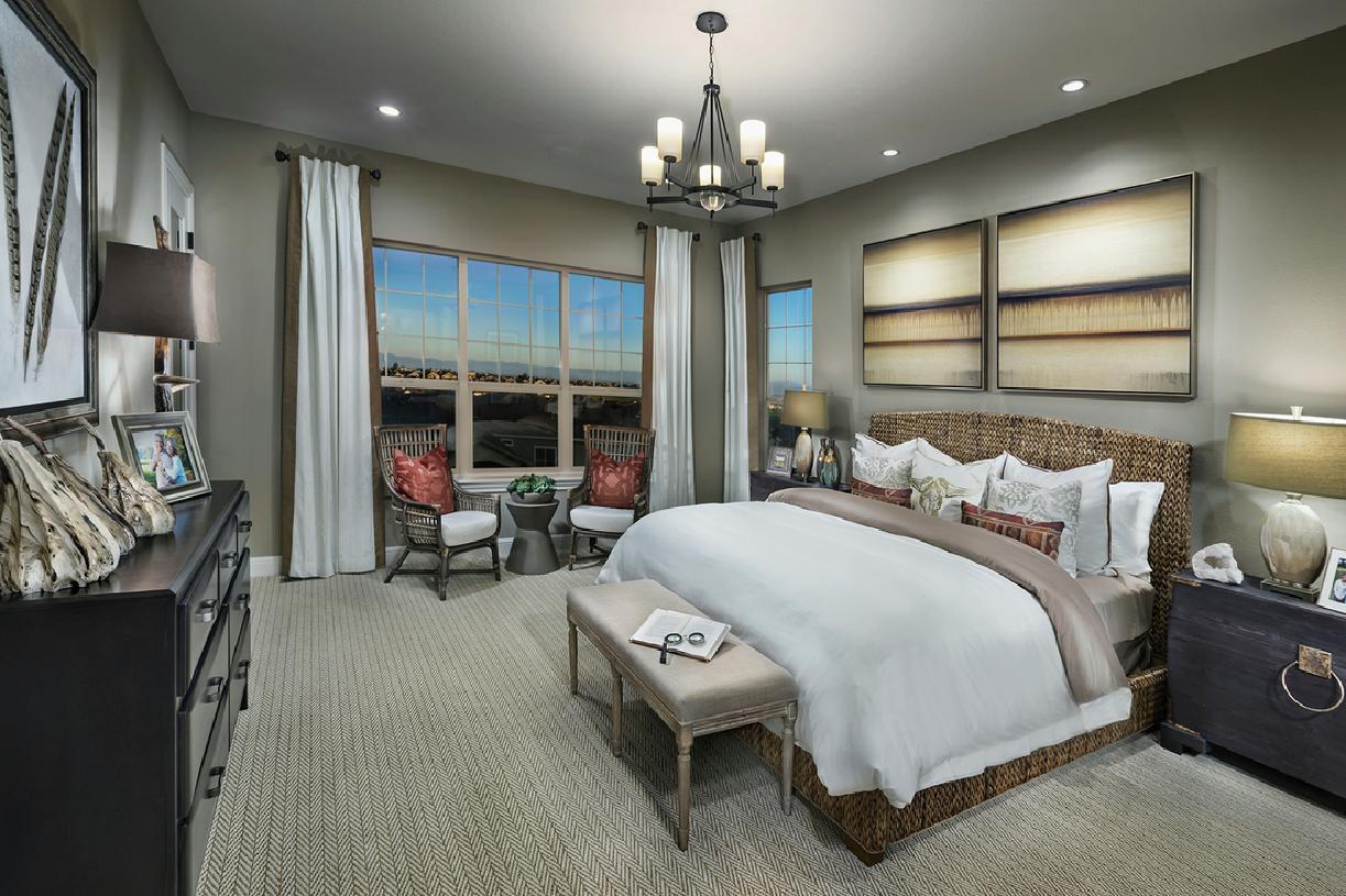 Bedroom featured in the Bancroft By Toll Brothers in Denver, CO