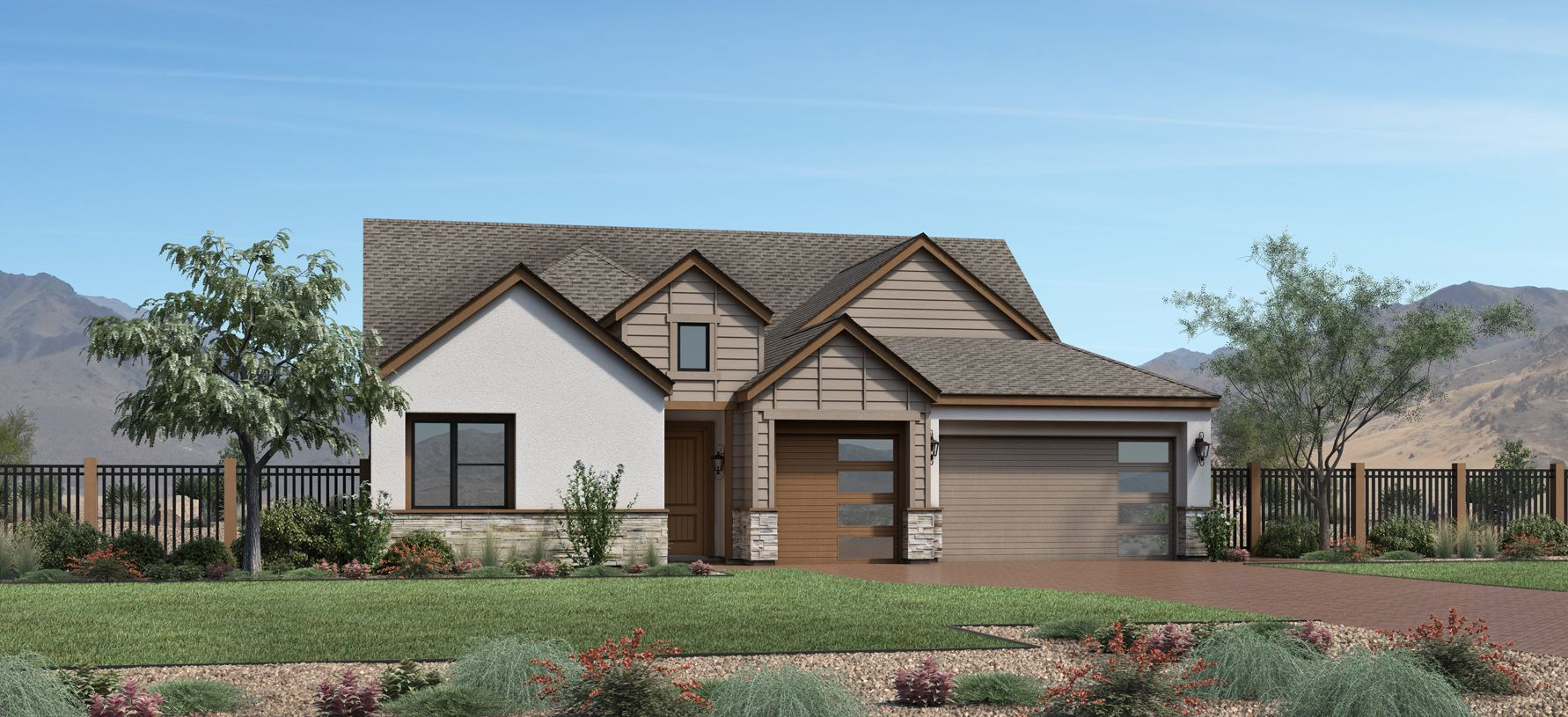 Exterior featured in the Sarona By Toll Brothers in Reno, NV