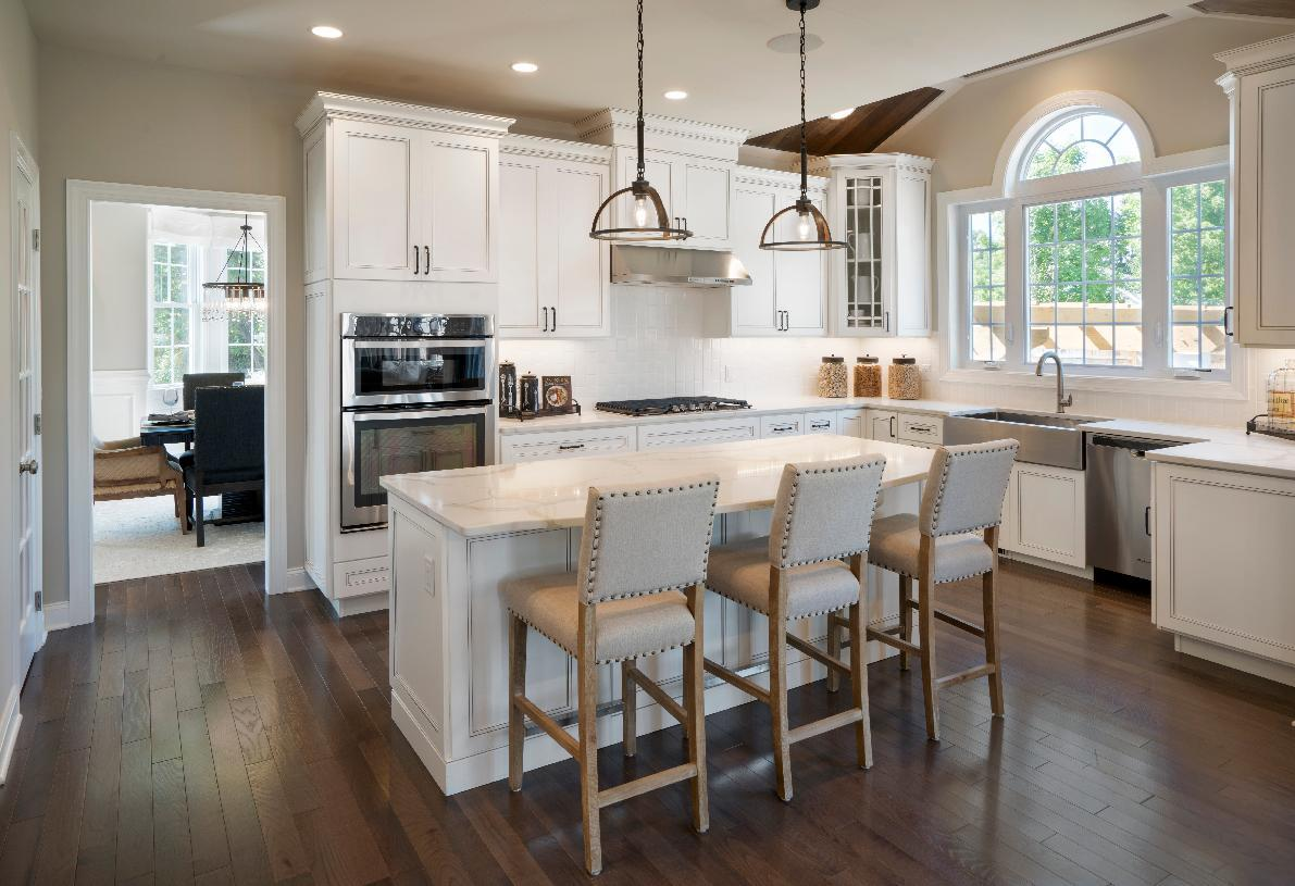Kitchen featured in the Columbia II By Toll Brothers in Detroit, MI
