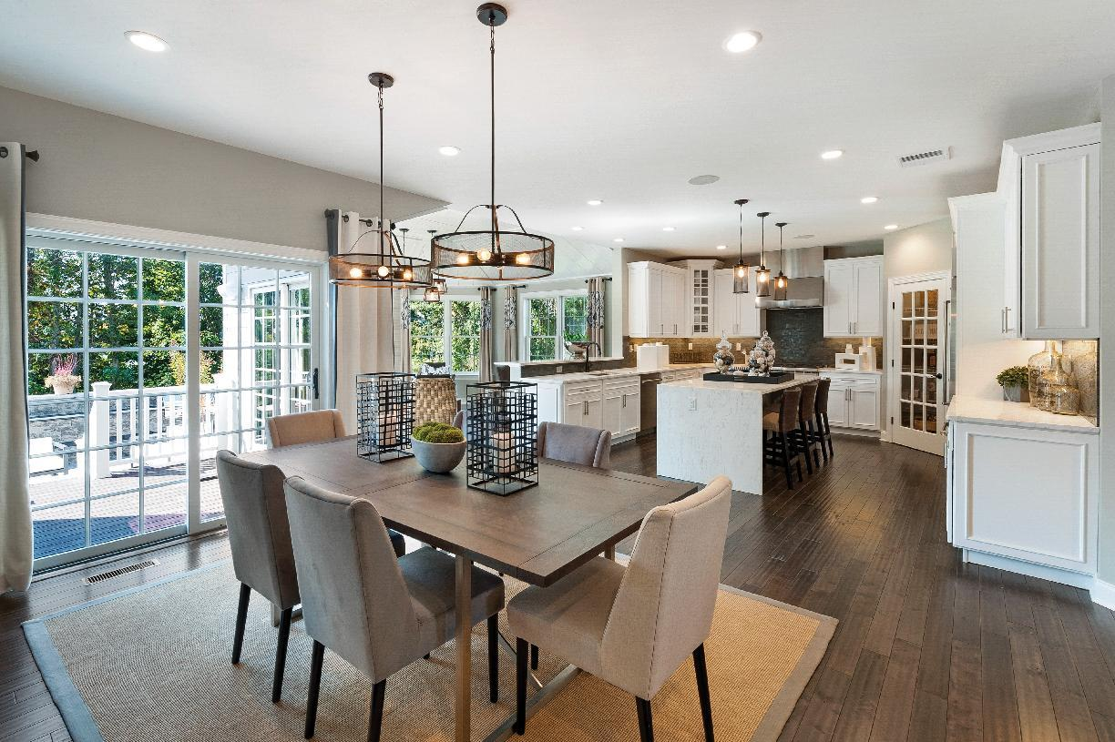 Kitchen featured in the Sterling By Toll Brothers in Boston, MA