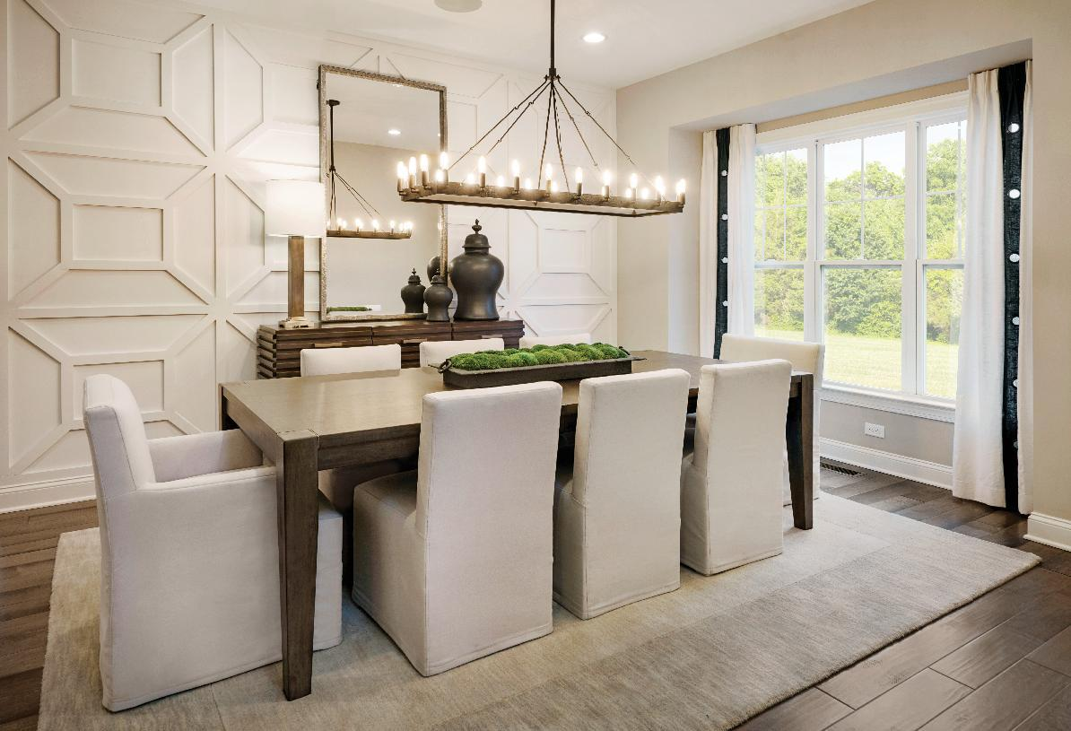 Living Area featured in the Lehman By Toll Brothers in Danbury, CT