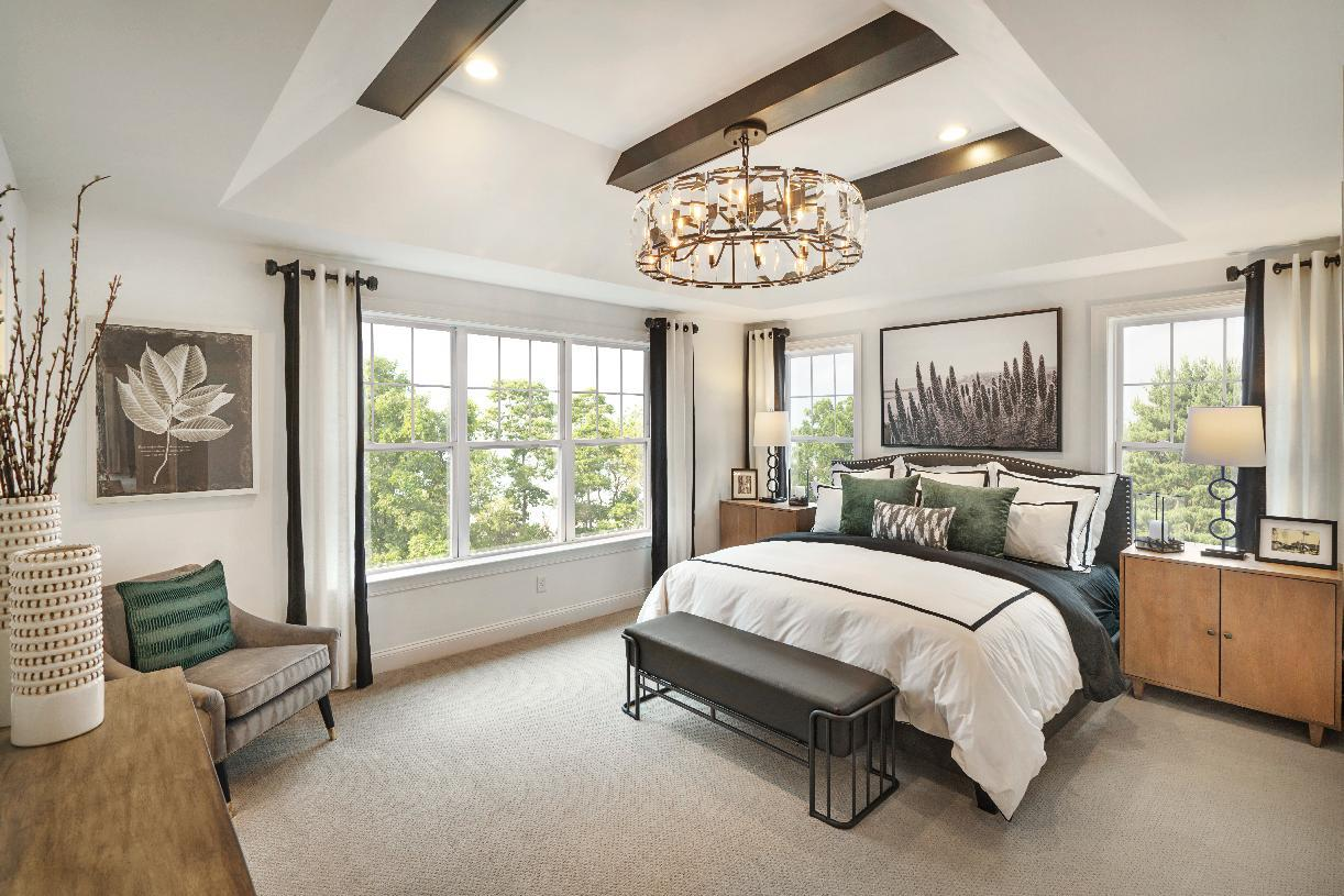 Bedroom featured in the Lehman By Toll Brothers in Danbury, CT
