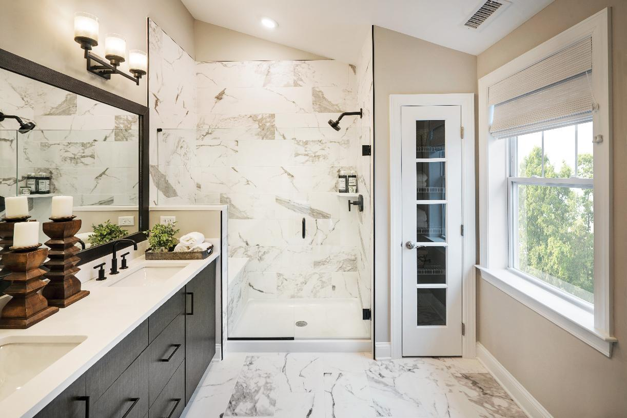 Bathroom featured in the Lehman By Toll Brothers in Danbury, CT