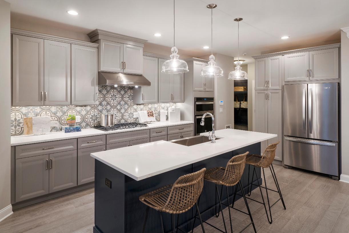 Kitchen featured in the Reynolds By Toll Brothers in Danbury, CT