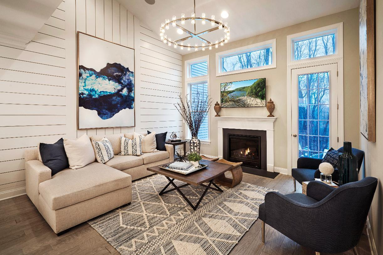 Living Area featured in the Reynolds By Toll Brothers in Danbury, CT