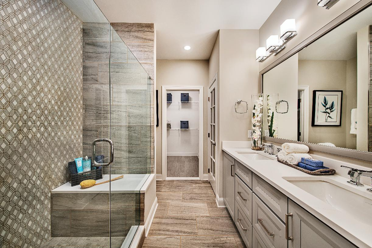 Bathroom featured in the Reynolds By Toll Brothers in Danbury, CT