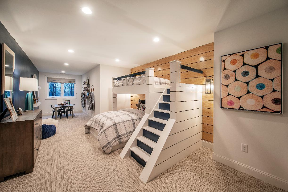 Bedroom featured in the Reynolds By Toll Brothers in Danbury, CT