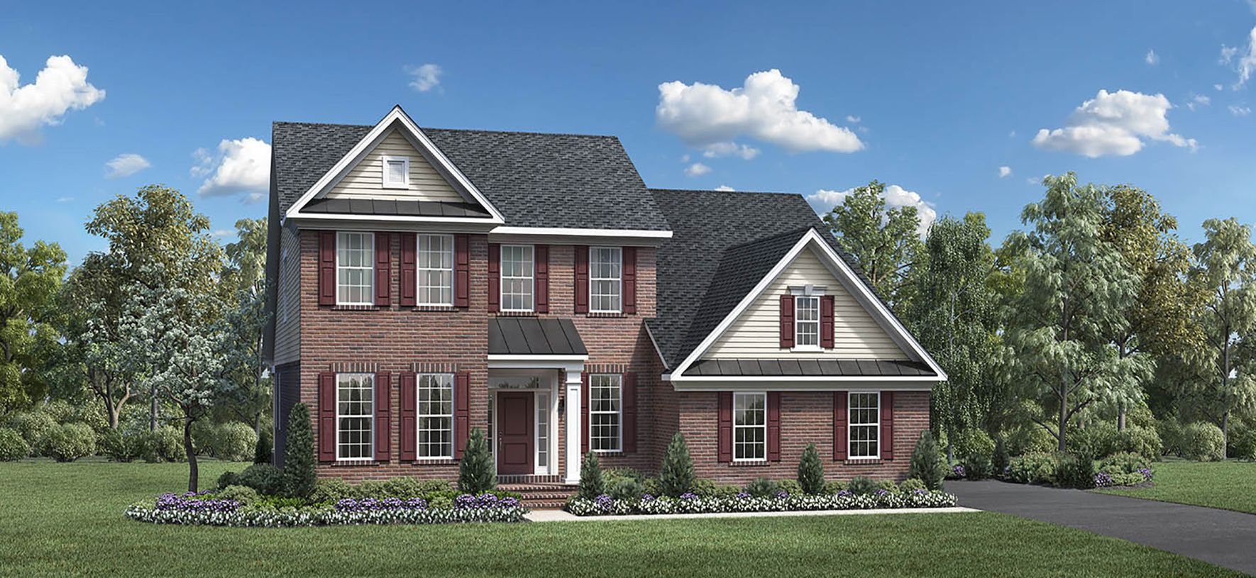 Exterior featured in the Baymont By Toll Brothers in Detroit, MI