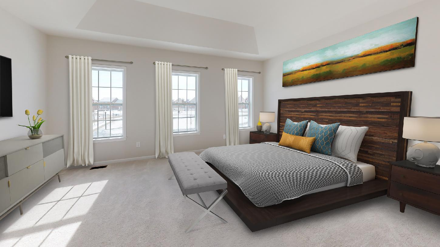 Bedroom featured in the Pryor By Toll Brothers in Chicago, IL