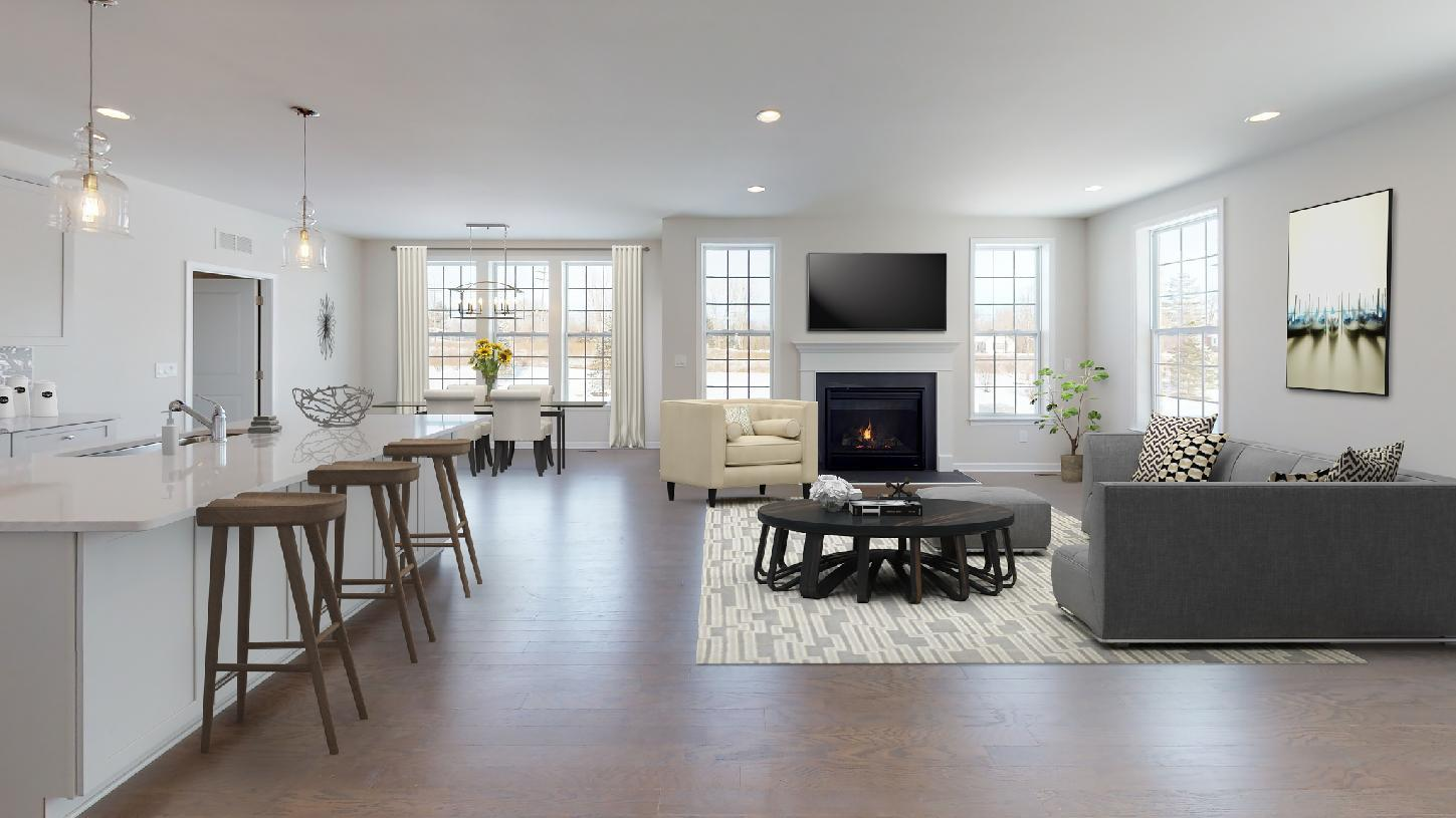 Living Area featured in the Pryor By Toll Brothers in Chicago, IL