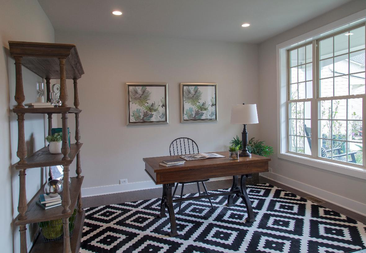 Living Area featured in the Pine Hill By Toll Brothers in Danbury, CT