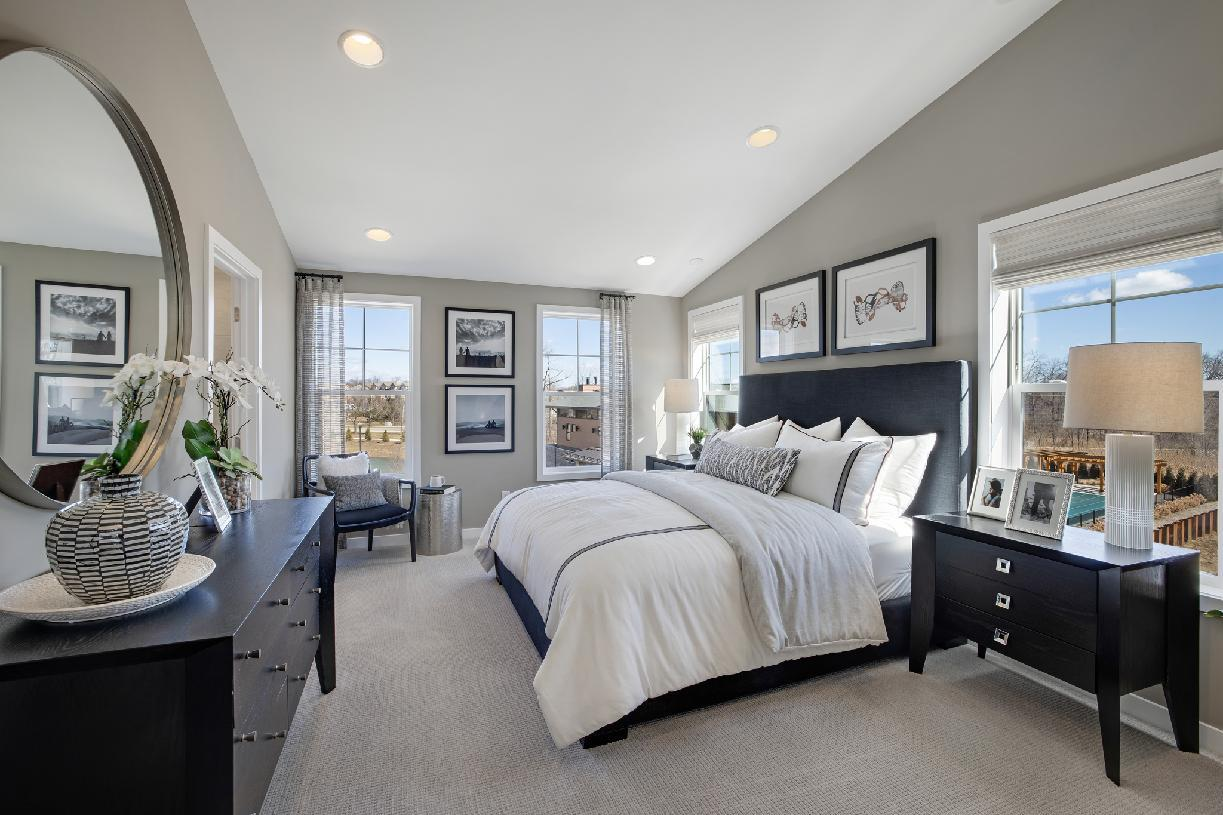 Bedroom featured in the Fulton By Toll Brothers in Ann Arbor, MI