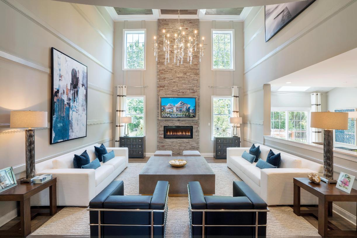 Living Area featured in the Copley By Toll Brothers in Boston, MA