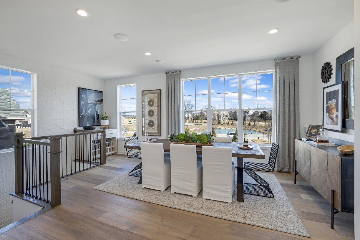 Living Area featured in the Bethesda By Toll Brothers in Ann Arbor, MI