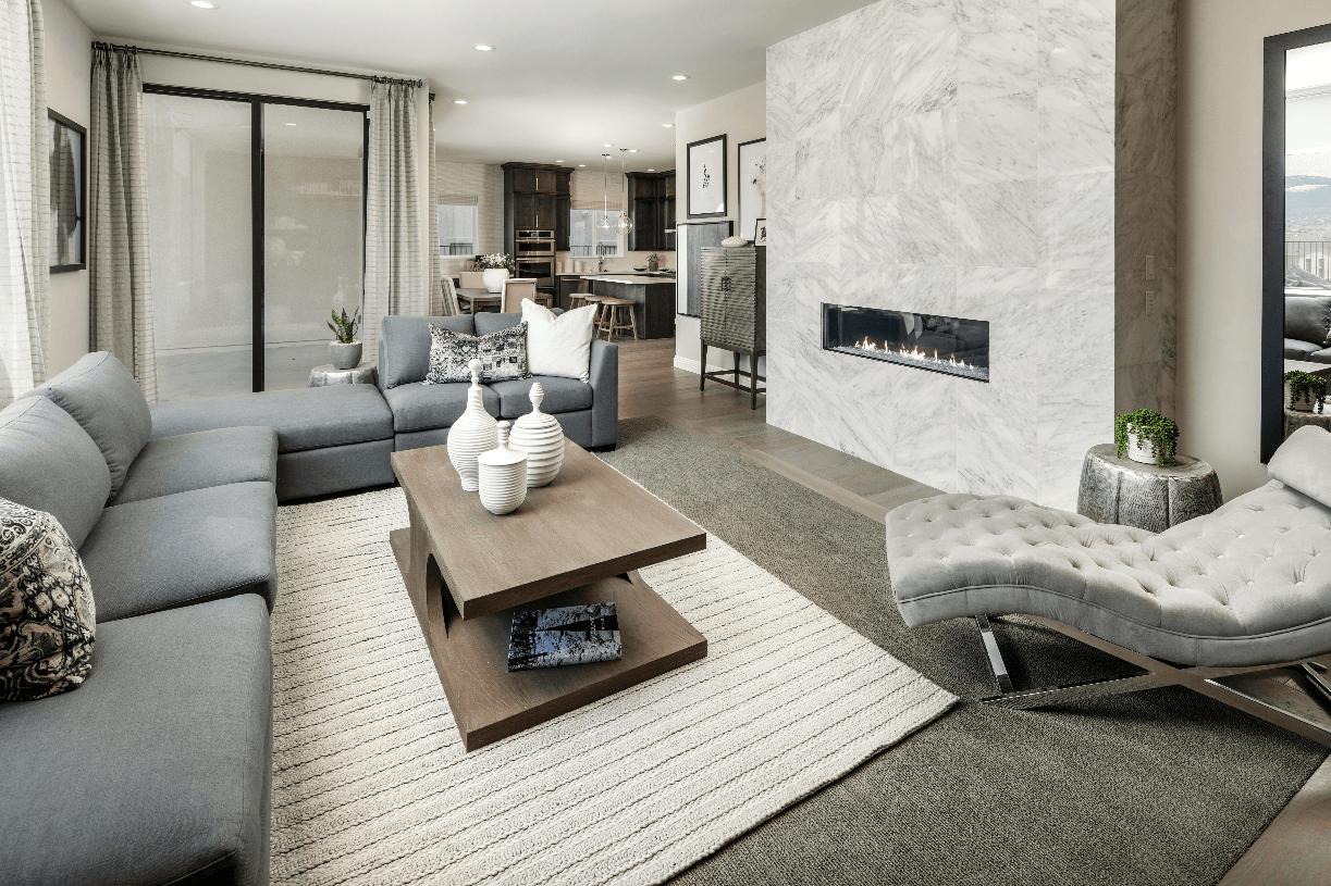 Living Area featured in the Crimson By Toll Brothers in Reno, NV