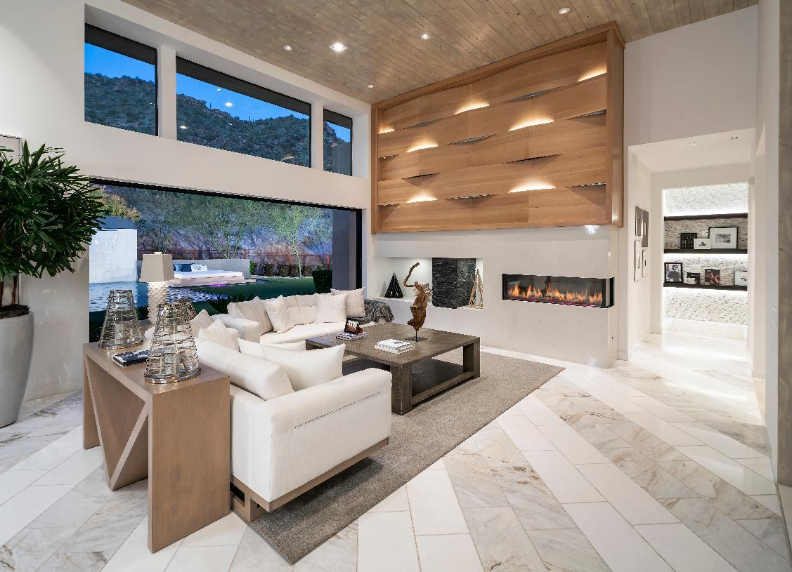 Living Area featured in the Parker (AZ) By Toll Brothers in Phoenix-Mesa, AZ
