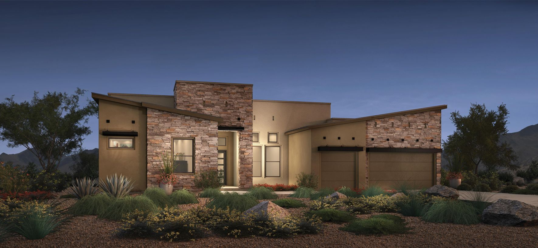 Exterior featured in the Mayne By Toll Brothers in Phoenix-Mesa, AZ