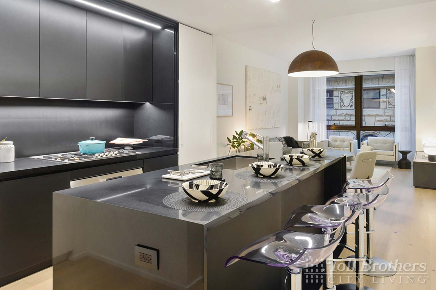 Kitchen featured in the S201 By Toll Brothers in New York, NY