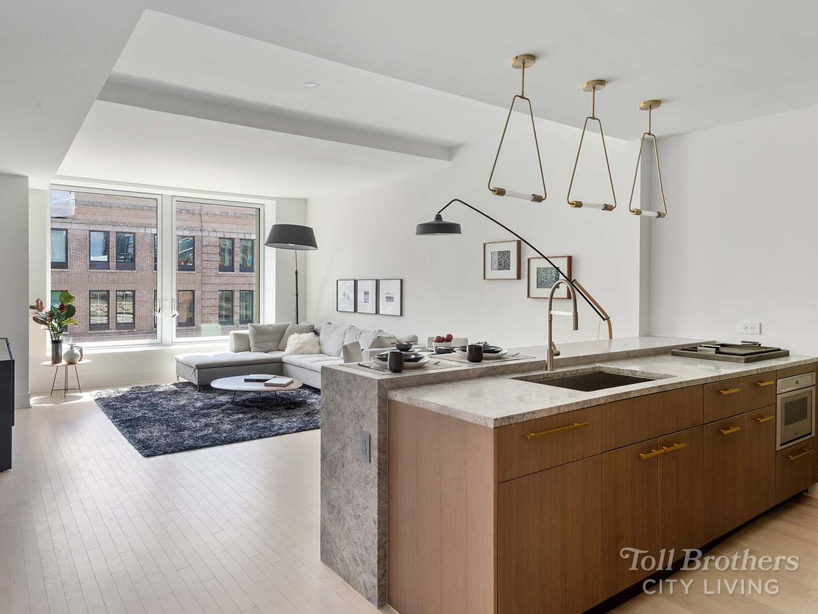 Kitchen featured in the 12C By Toll Brothers in New York, NY