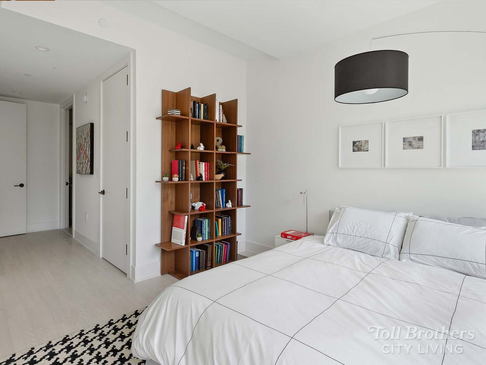 Bedroom featured in the 12C By Toll Brothers in New York, NY