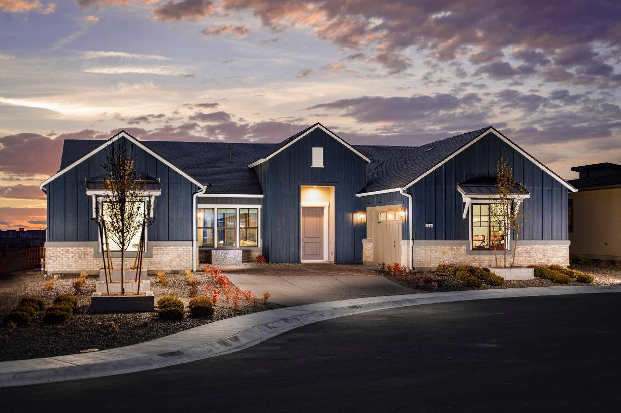 Exterior featured in the Bayberry By Toll Brothers in Reno, NV