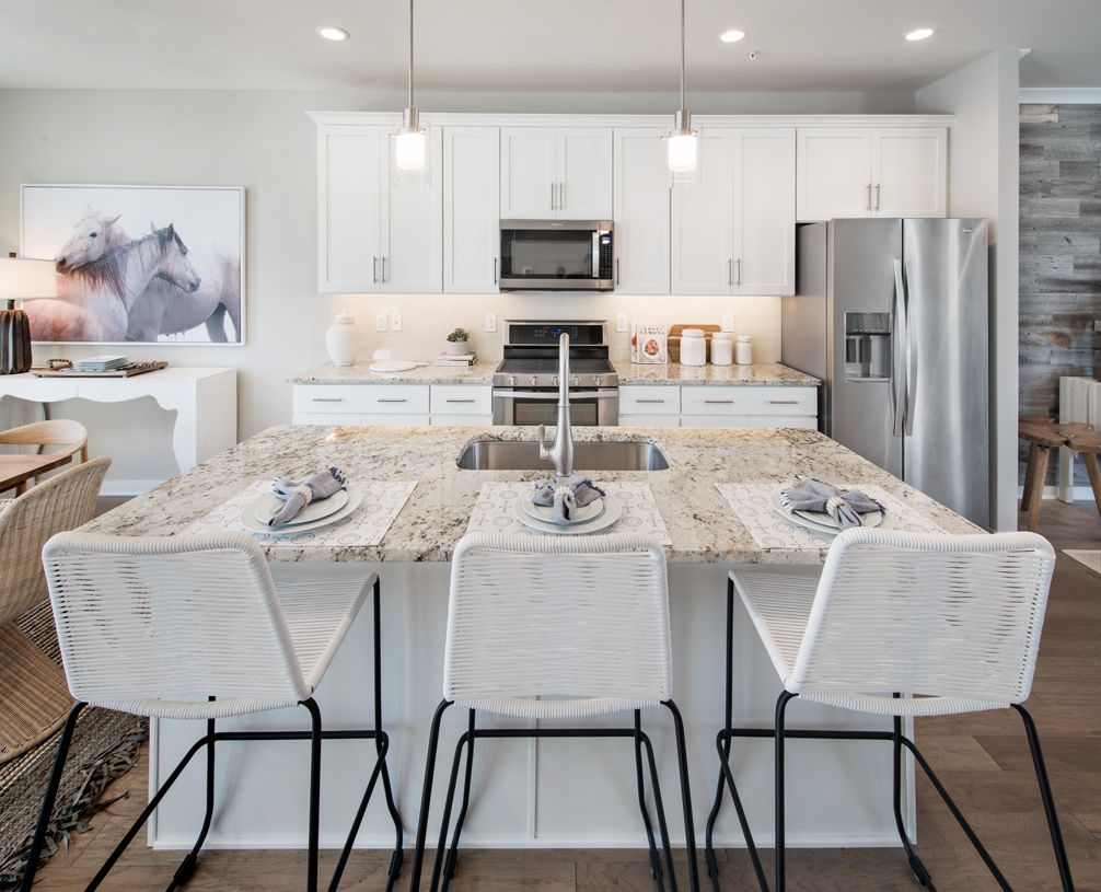 Kitchen featured in the Harris Elite By Toll Brothers in Philadelphia, PA