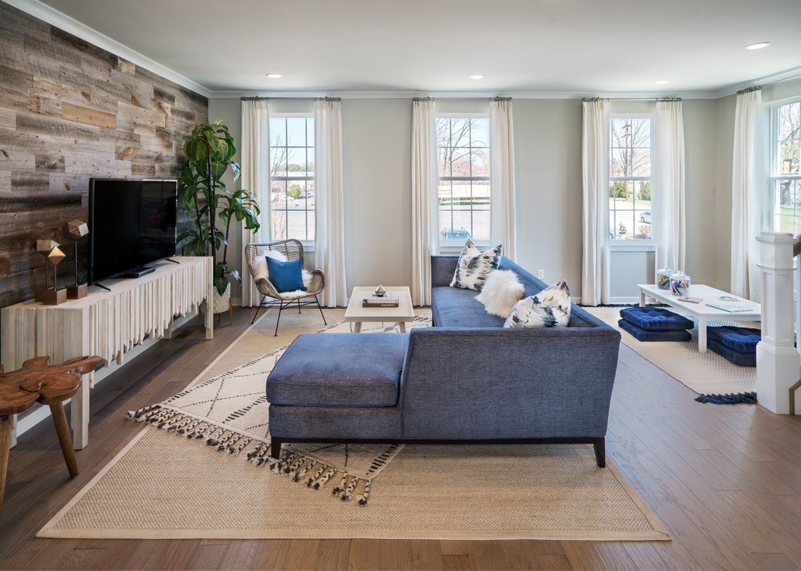 Living Area featured in the Harris Elite By Toll Brothers in Philadelphia, PA