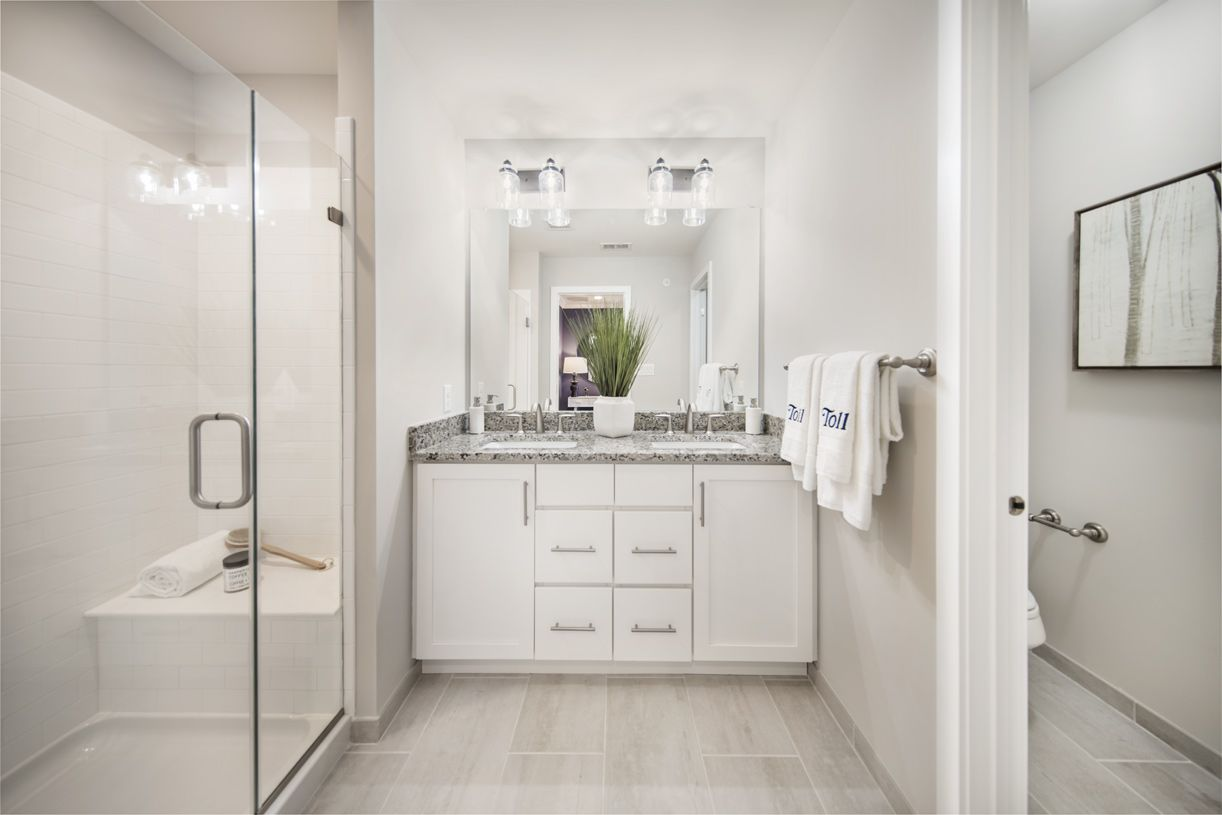 Bathroom featured in the Harris Elite By Toll Brothers in Philadelphia, PA