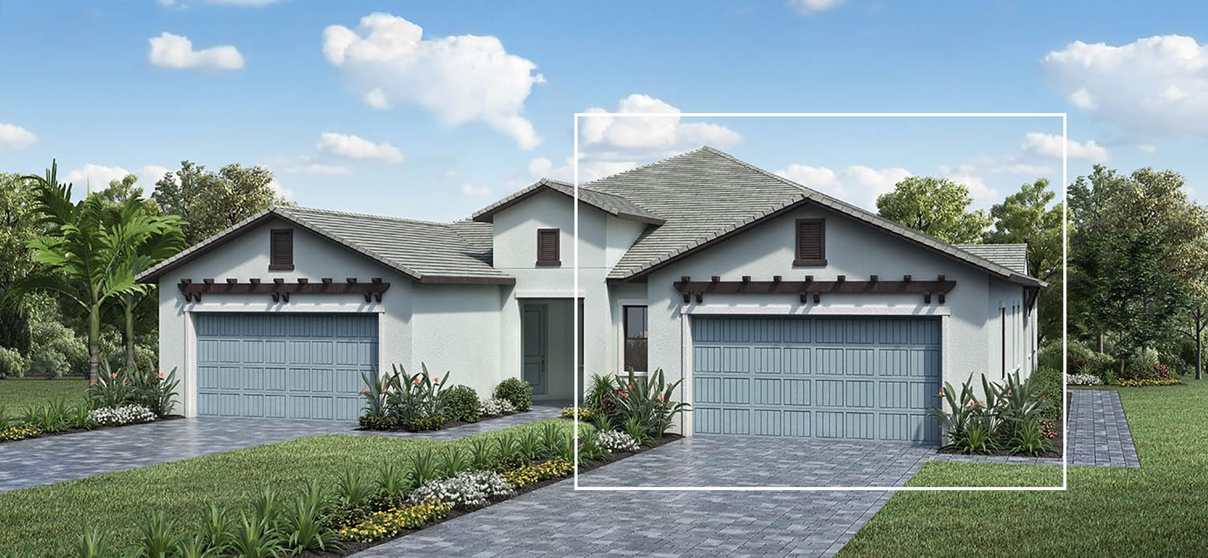 Exterior featured in the Sandhill By Toll Brothers in Naples, FL