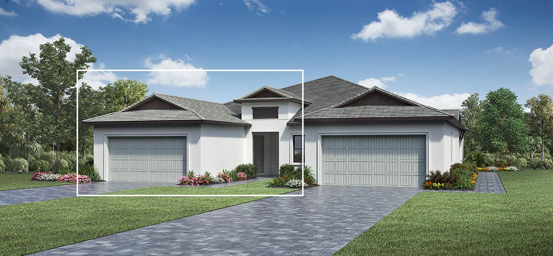 Exterior featured in the Heron By Toll Brothers in Naples, FL