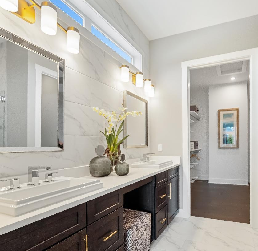 Bathroom featured in the Berks By Toll Brothers in Detroit, MI
