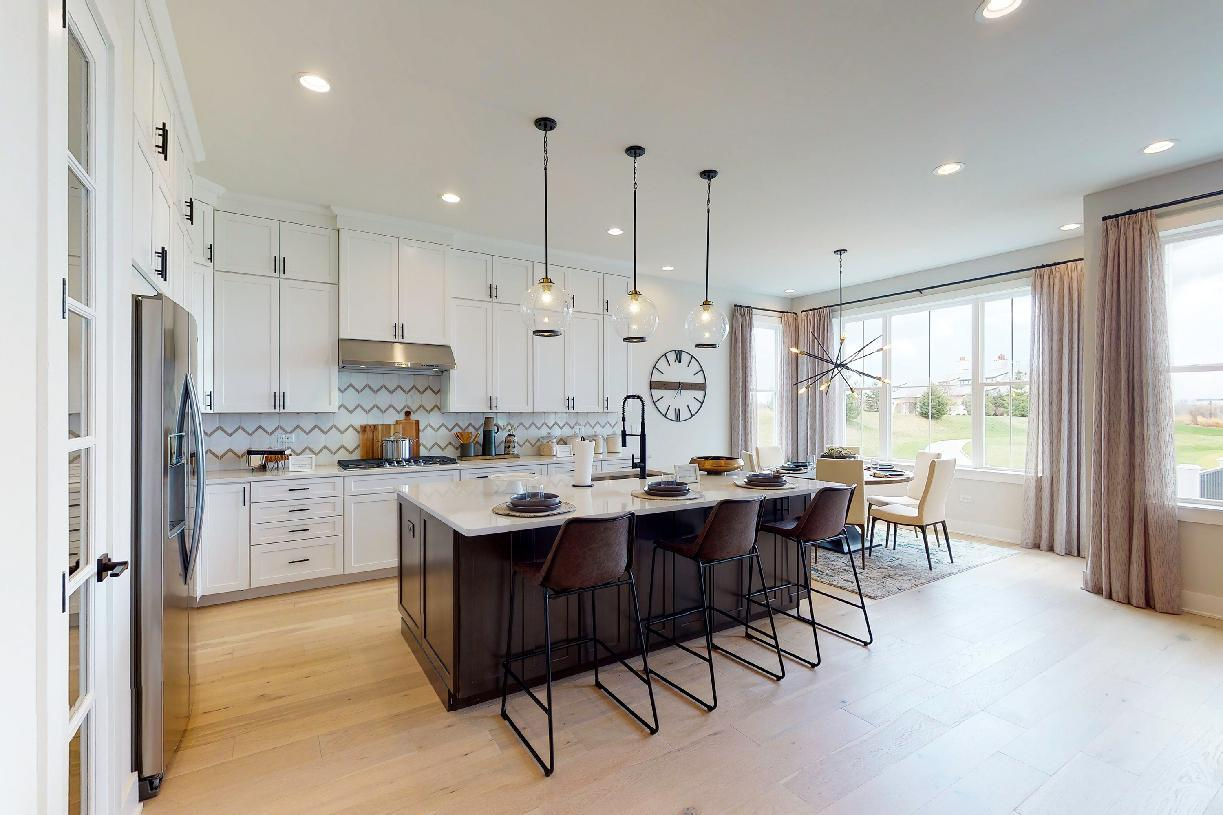 Kitchen featured in the Borden By Toll Brothers in Chicago, IL