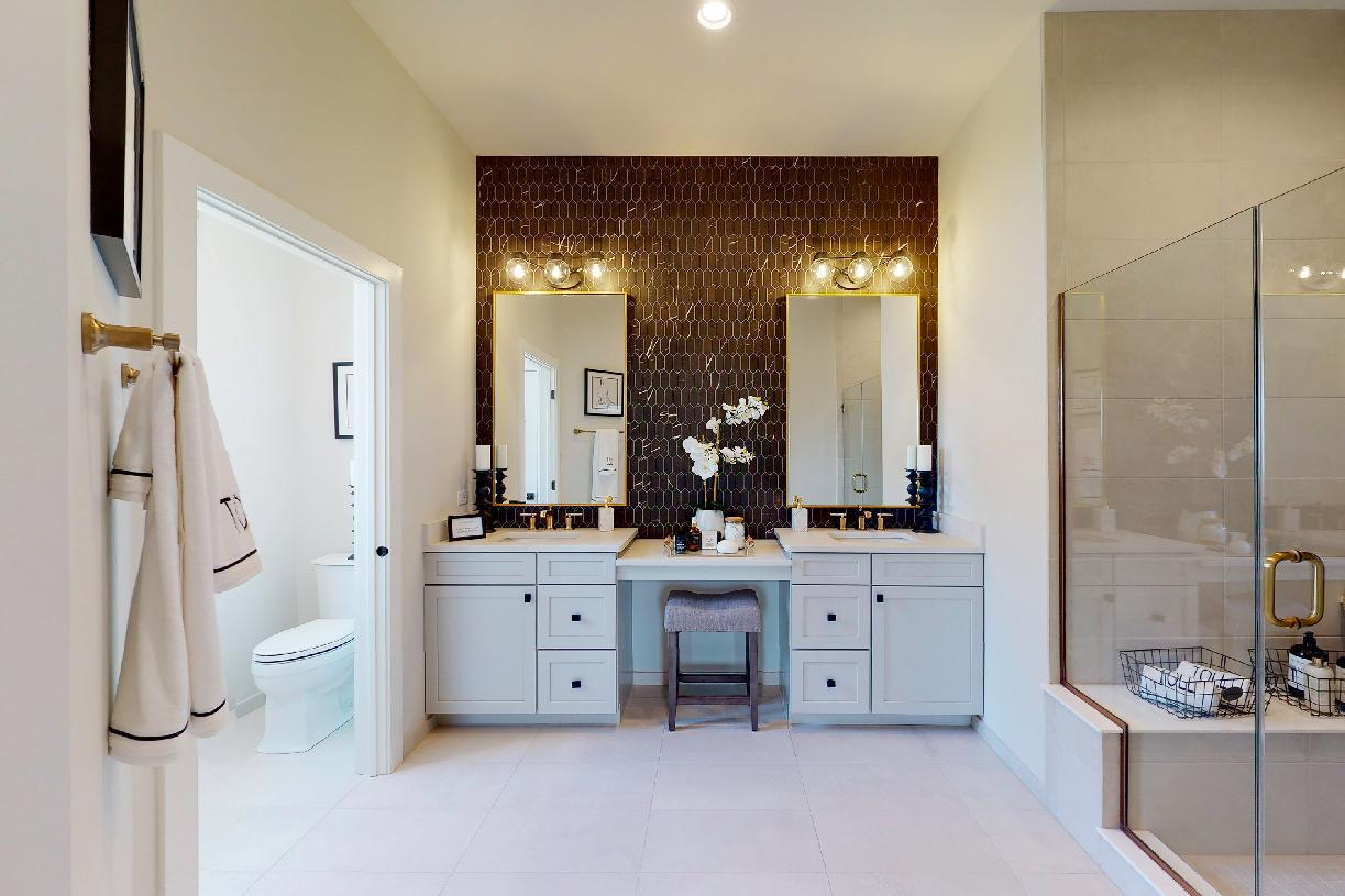 Bathroom featured in the Borden By Toll Brothers in Chicago, IL