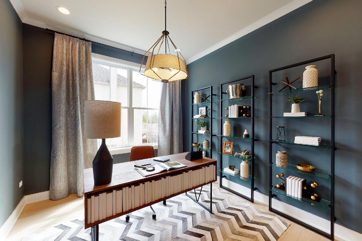 Living Area featured in the Borden By Toll Brothers in Chicago, IL