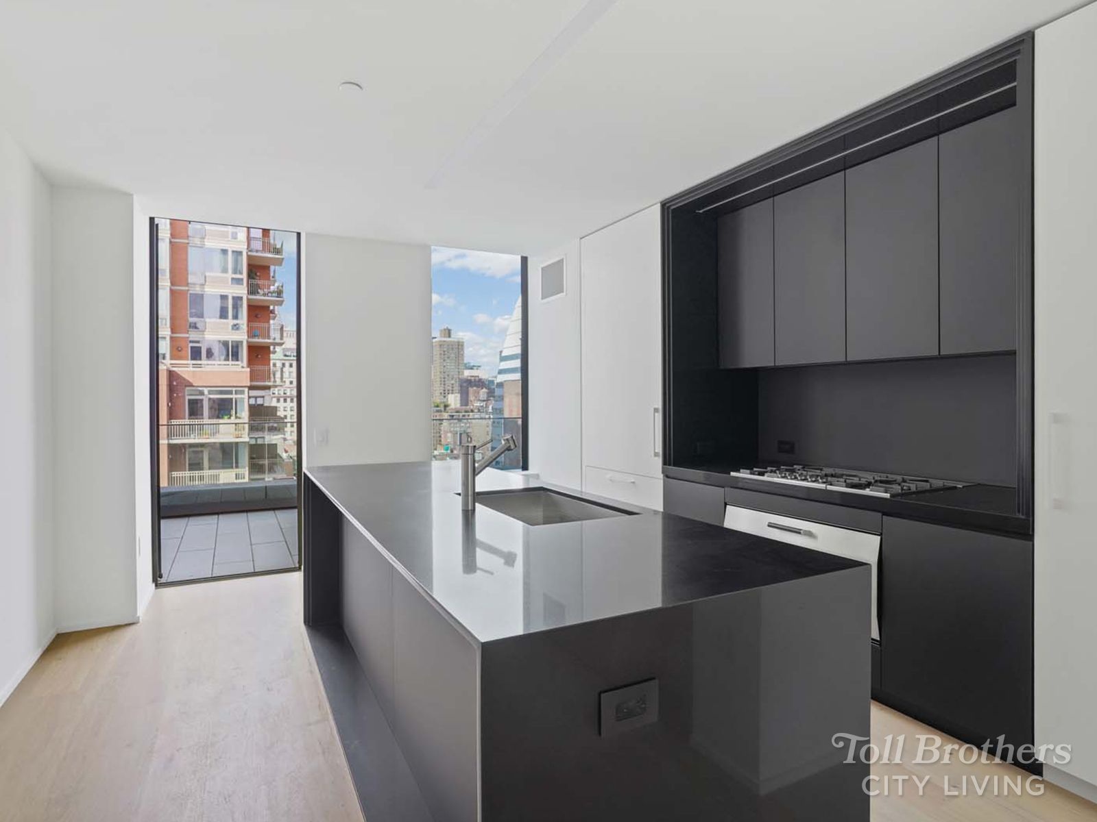 Kitchen featured in the N1302 By Toll Brothers in New York, NY
