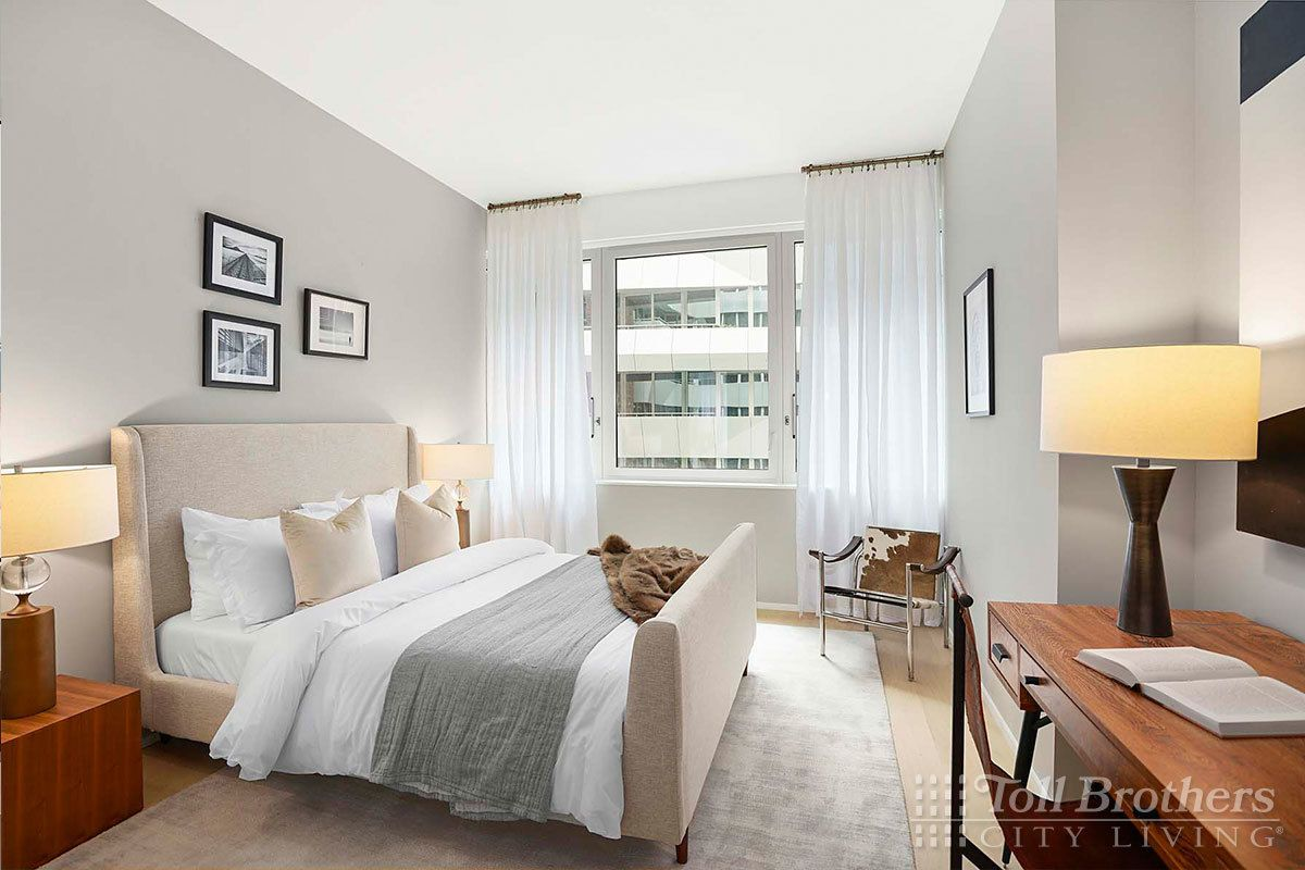 Bedroom featured in the N1001 By Toll Brothers in New York, NY
